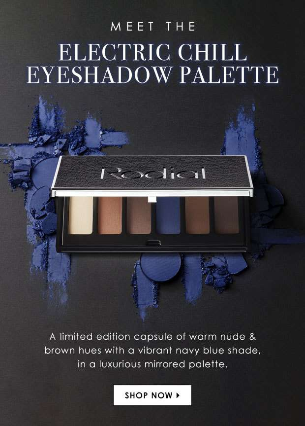 Meet The Electric Chill Eyeshadow Palette