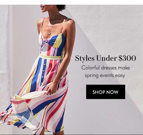Shop Styles Under $300