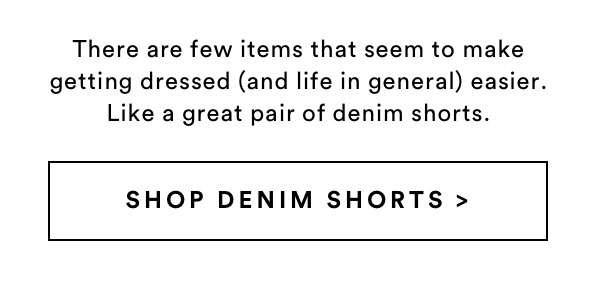 Denim Shorts | Shop Now