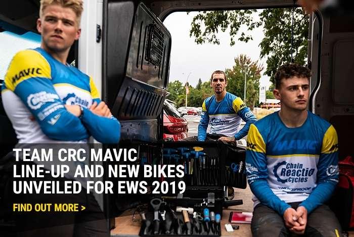 Team CRC Mavic line-up and new bikes unveiled for EWS 2019