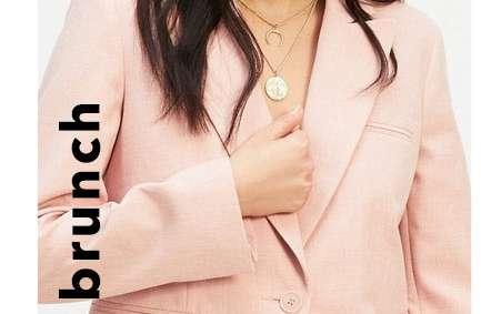 Pink Single Breasted Blazer