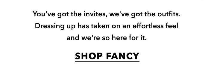 What's the occasion? - Shop fancy