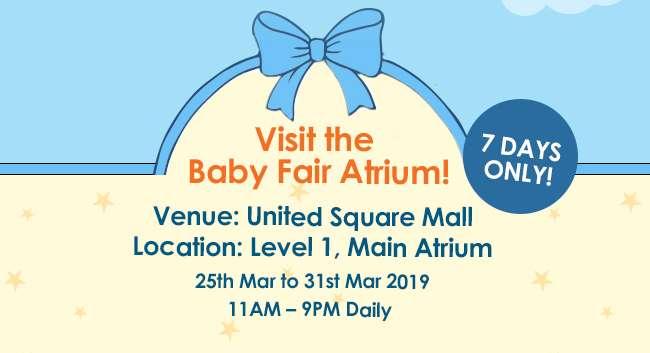 Visit the Baby Fair Atrium