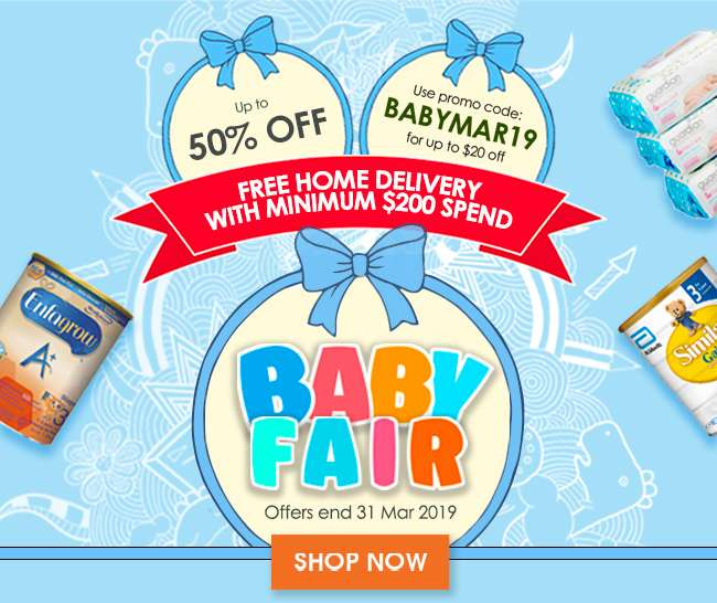 Baby Fair Up to 50% off!