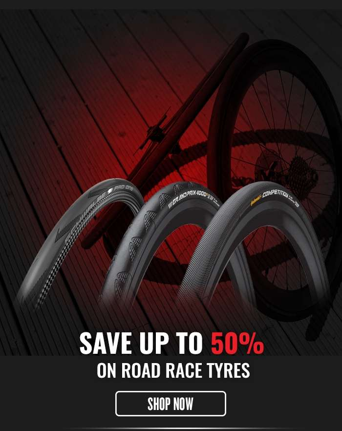 Save up to 50% on Road Race Tyres