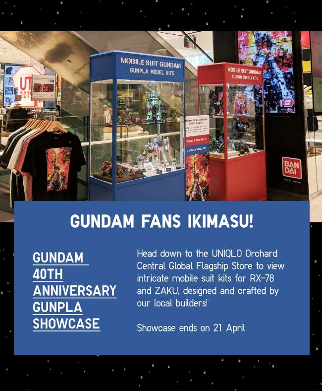 Gundam Fans Ikimasu! Gundam 40th Anniversary Gunpla Showcase!