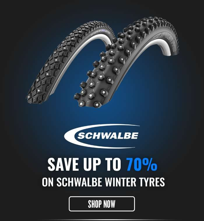 Save up to 70% on Schwalbe Winter Tyres