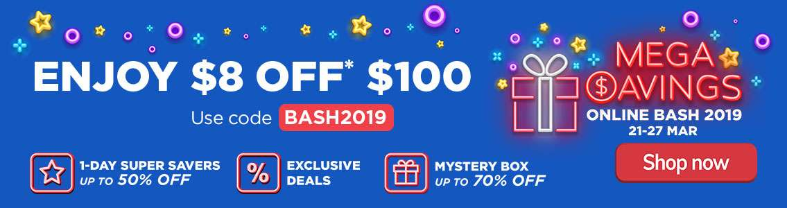 Mega Savings Bash
