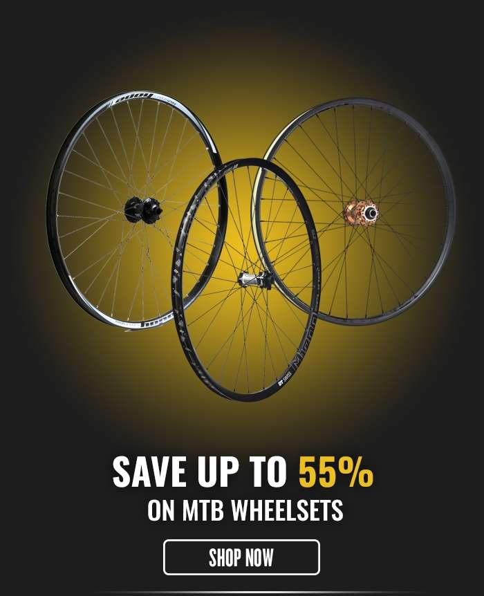Save up to 55% on MTB Wheelsets