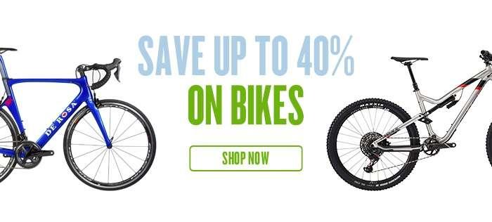 Save 40% on Bikes