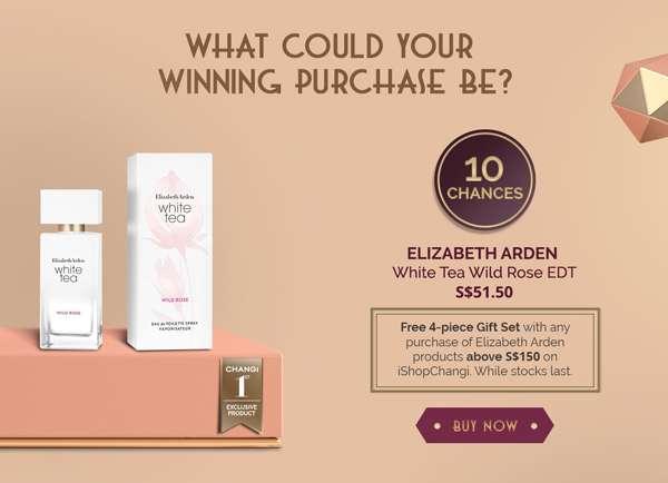 Elizabeth Arden White Tea Wild Rose EDT