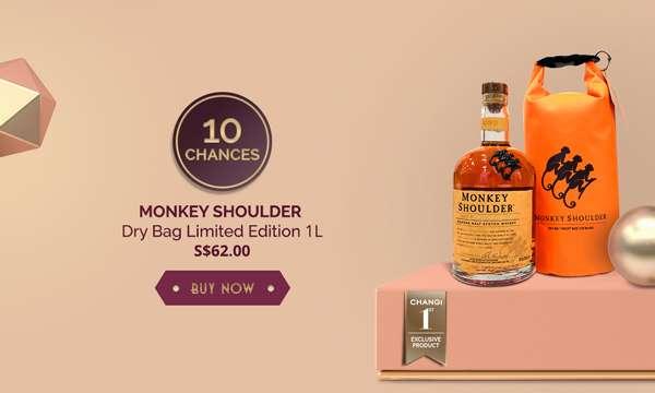Monkey Shoulder Dry Bag Limited Edition 1L