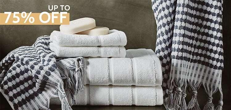 Super Stock-Up: Bath Towels & Rugs