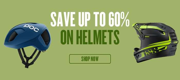Save up to 60% on Helmets
