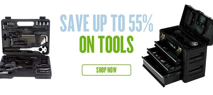 Save up to 55% on Tools