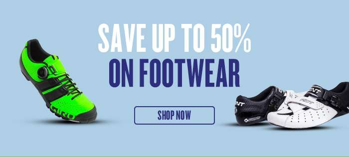 Save 50% on Footwear