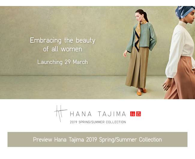 Preview Hana Tajimas 2019 Spring/Summer Collection