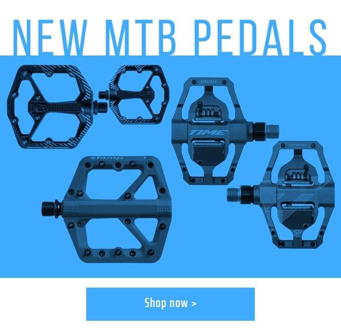 New MTB Pedals