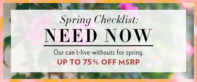 Shop Spring Styles
