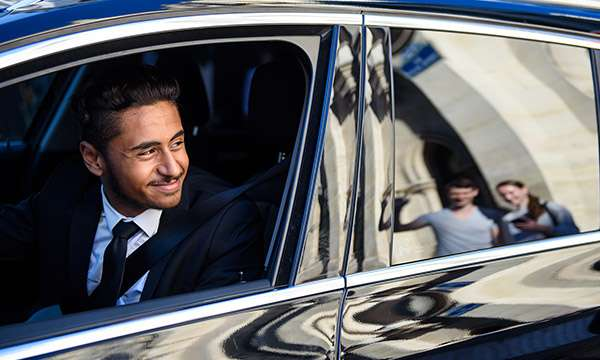 Luxury transfers with Uber