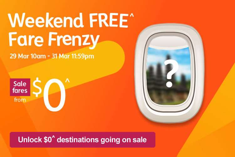 Weekend Free Fare Frenzy