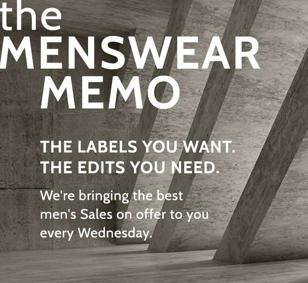 The Menswear Memo