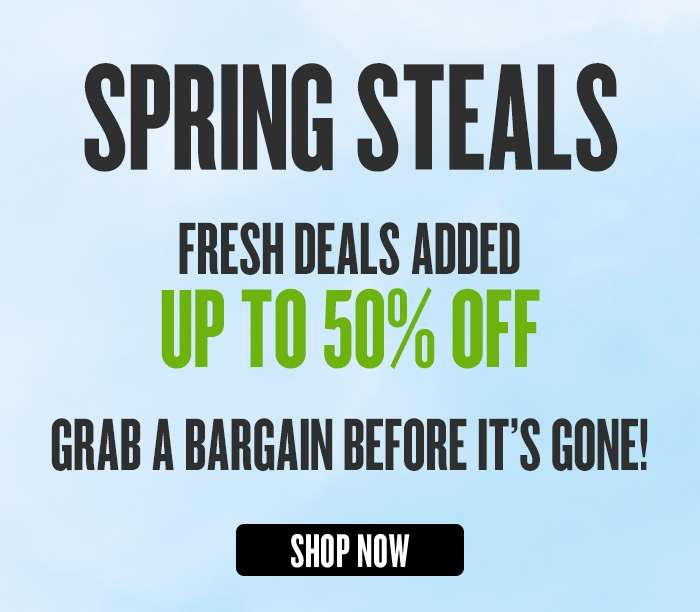 FINAL WEEK - Up to 50% off