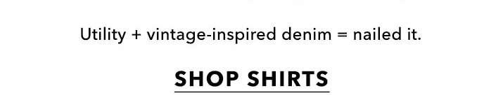 It's a shirt thing - Shop shirts