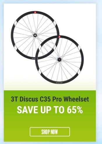 3TDiscus C35 Pro Wheelset