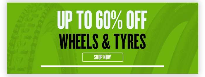 Up to 60% Off Wheels & Tyres
