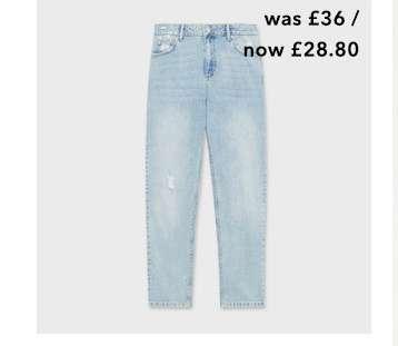 High Rise Light Wash Vintage Jeans