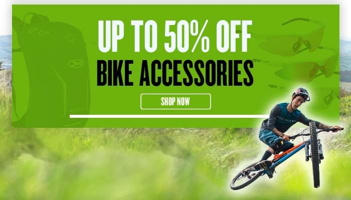 Up to 50% Off Bike Accessories
