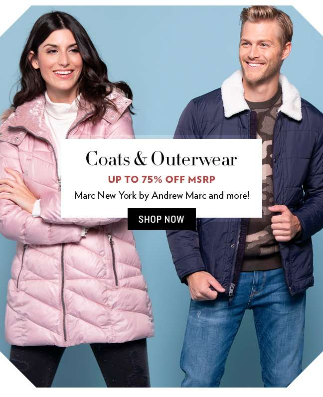 Shop Coats & Outerwear