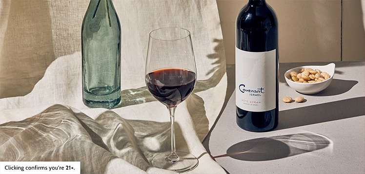 Passover-Friendly Syrah From Covenant Wines