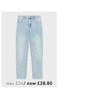 High Rise Light Wash Vintage Jeans