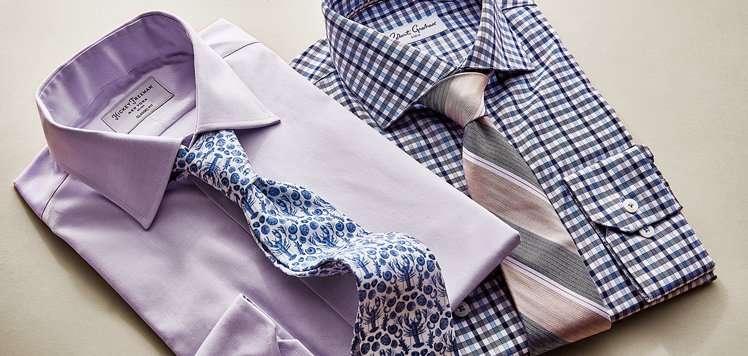 Men's Dress Shirts & Ties