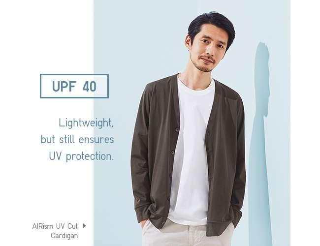Men's AIRism UV Cut Cardigan