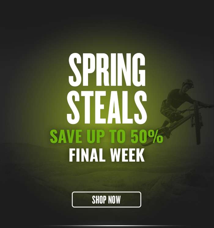 Final Week Save up to 50%
