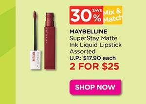Maybelline SuperStay Matte Ink Lipstick