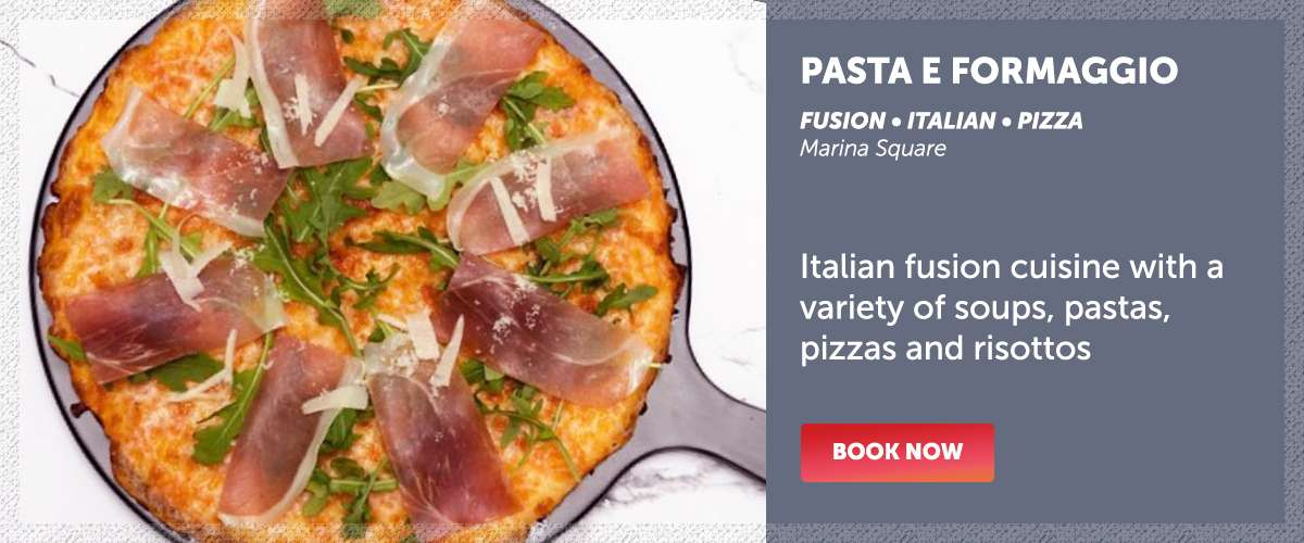 Pasta e Formaggio - Italian fusion cuisine with a variety of soups, pastas, pizzas and risottos