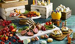Royale - Exclusive: 3rd Diner Dines FREE for Easter Buffet Lunch at $88++ per adult
