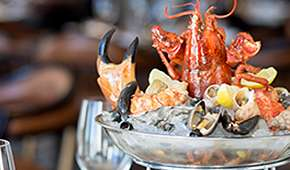 One-Ninety Restaurant - 25% off Signature Seasonal Seafood Tower for 2 pax