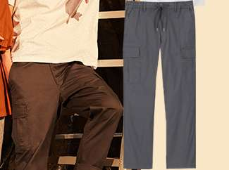 Men's Relax Fit Cargo Pants at $49.90