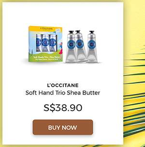 L'occitane Soft Hand Trio Shea Butter