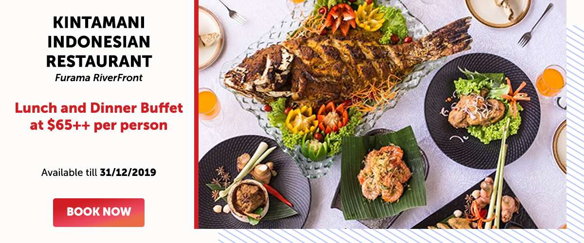 Kintamani Indonesian Restaurant - Lunch and Dinner Buffet at SGD65++ per person
