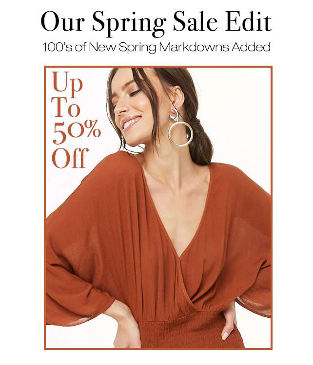 Shop Spring Sale Edit