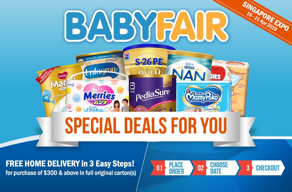 BABY FAIR: Special deals for you!