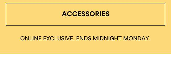 30% OFF Accessories | Shop Now