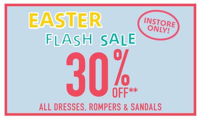 Easter Flash Sale