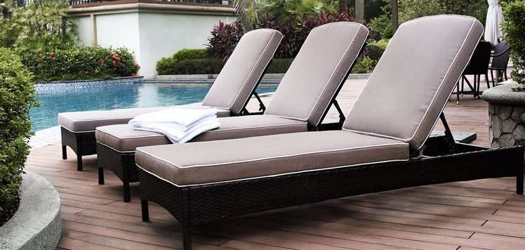 Loungers, Fire Pits & More for Outdoor Relaxation